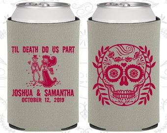 Till Death Do Us Part, Sugar Skull Wedding Gift, Day of the Dead Wedding Gift, Candy Skull Wedding, Dia De Los Muertos Wedding (597)