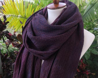 Handyed Handwoven Twilight Shawl Scarf