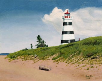 West Point Lighthouse - print