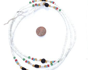 African glass beads
