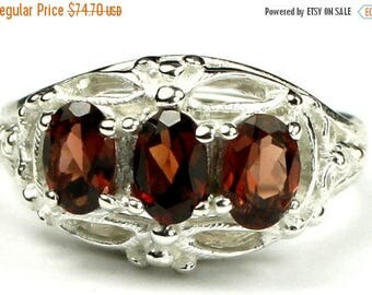 On Sale, 30% Off, Mozambique Garnet, 925 Sterling Silver Ladies Ring, SR163