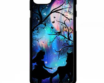 Little red riding hood and the big bad wolf fairy tale pretty graphic art cover for sony xperia Z2 Z3 Z5 comapct Htc one m9 Lg G3 phone case