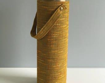 Vintage Knitting Needle Holder / Vintage Knitting Needle Storage / knitting Holder Canister