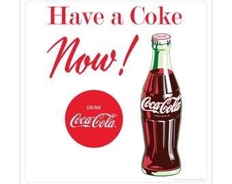 Coca-Cola Have a Coke Now Vinyl Sticker - 158841