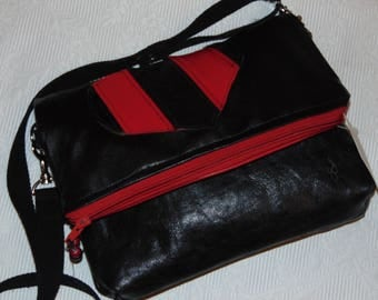 Leaf Bag recycled leather