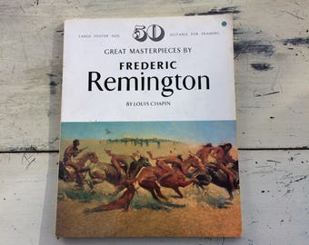 Great Masterpieces By FREDERIC REMINGTON - 50 Posters