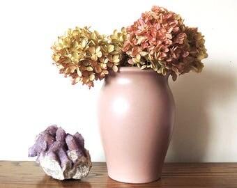 "Royal Haeger Flower-ware Matte Glaze Mid Century Vase 8"" Tall"