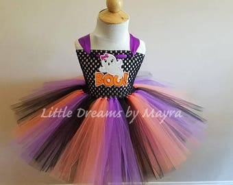 halloween tutu dress spooky outfit cute ghost tutu dress halloween tutu outfit size - Halloween Tutu Dress