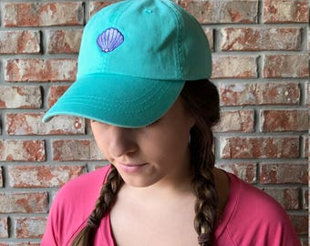 Seashell dad hat, baseball hat