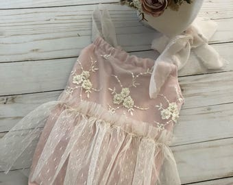NEW release Sydney sitter romper lace and pink romper set sitter session limited time pre order FREE shipping newborn photoprop romper