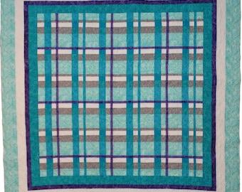 Plaid quilt | Etsy : plaid quilt pattern - Adamdwight.com