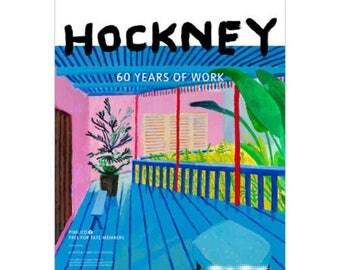 DAVID HOCKNEY - original exhibition poster - c2017 (Tate Britain, London)