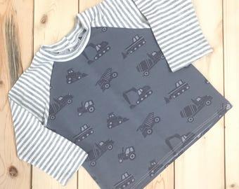 Raglan Tee - Raglan t-shirt - t-shirt toddler - t-shirt  baby