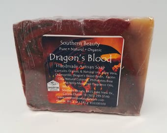 Dragon's Blood Artisan Handmade Soap