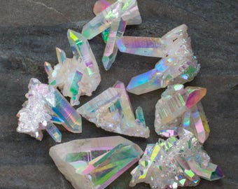 Opal Aura Quartz Crystal