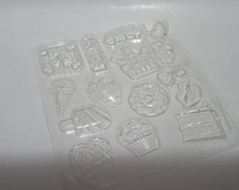 Food-Shaped Chocolate Candy Mold