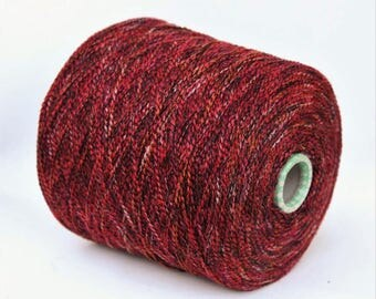 100% cashmere space dyed yarn on cone, per 100g