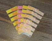 WS30   Pre-Cut Washi Samples (for Erin Condren)    Planner Stickers
