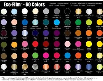 Spectra Eco-Film Heat Transfer Vinyl - 12x15