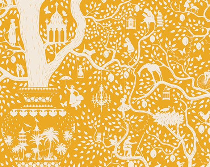 TILDA LEMONTREE - Lemontree Yellow 100013 - 1/4 yard