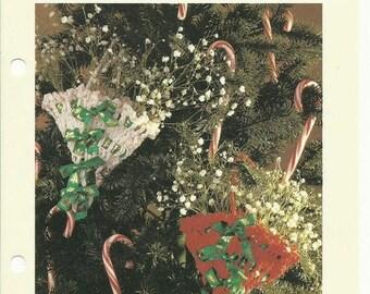 Retrocon Sale - Party favor Christmas ornaments crochet pattern digital download