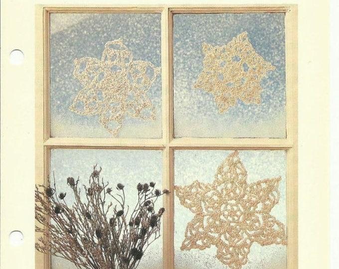 Retrocon Sale - Snowflakes crochet pattern digital download