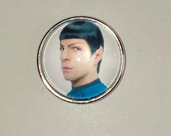 Spoke of Star Trek 18mm snap