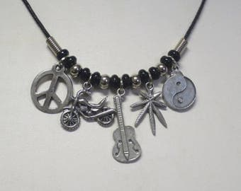 Easy Rider charm necklace CCS185