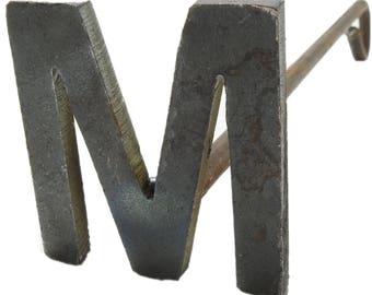 "R & W Letter ""M"" Metal Branding Iron"