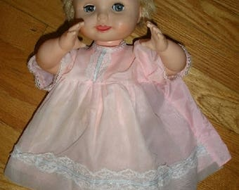 VERY RARE 1960's Baby Magic Doll By Deluxe Reading Co.