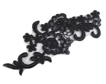 App 20 cm Black Lace