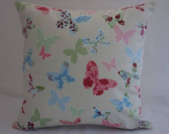 Pillow - Butterfly design feature cushion, complete with cushion pad, zip fastening