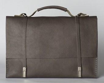 Messenger bag /Handmade laptop bag /leather laptop bag/Leather satchel/Leather shoulder bag/cross body bag/Leather briefcase men