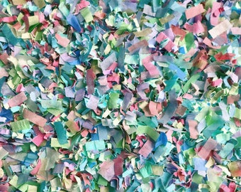 Dreamland Confetti Multicoloured Biodegradable Paper Wedding Party Throwing Decoration Craft Embellishments InsideMyNest (25 Guests)