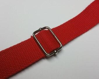 4 loops slide non-soldered to setting adjustable shoulder strap or bag strap