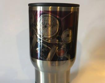 Harley Davidson Motorcycle Stainless Mug