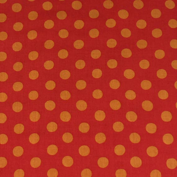 SPOT RED GP70 Kaffe Fassett Sold in 1/2 yard increments