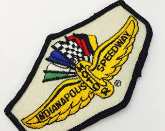Vintage  Indianapolis Motor Speedway Sew On Fabric Patches