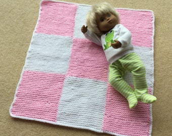 Blanket for baby Sasha by Granny Peggy