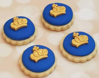 Royal Crown Decorated Sugar Cookies