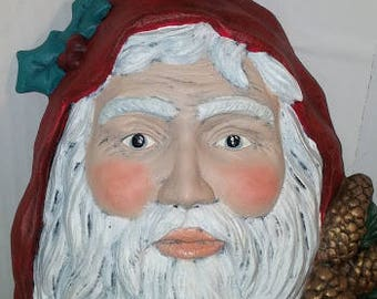 Old World Santa Mask