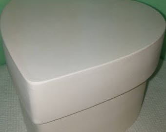 Heart Box and Lid