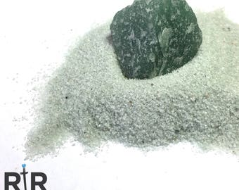 Green Aventurine - Small Sand - 100% Natural Without Fillers