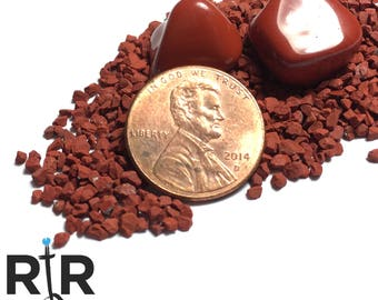 Crushed Red Jasper Extra Large Sand - 100% Natural Stone Without Fillers