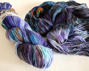 Sock Yarn Superwash Merino/Nylon 85/15 4ply Handdyed Yarn: METROPOLIS