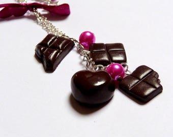 Gourmet Chocolate necklace