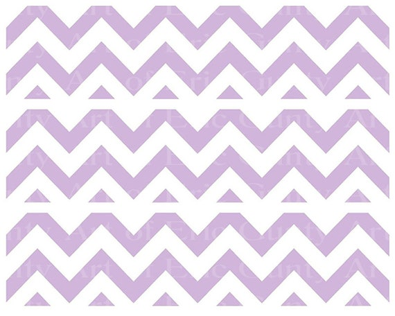 Pink Chevron Birthday - Designer Strips - Edible Cake Side Toppers- Decorate The Sides of Your Cake! - D22892