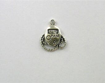 925 Sterling Silver Pulse Monitor Charm