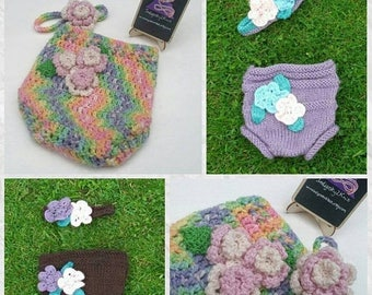 Wool nappy cover sale Floral nappy cover **Made to Order**  wool nappy soaker, wool cloth nappy wrap, cloth diaper, pure wool nappy cover, f