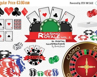 80% OFF - LIMITED TIME - Casino Cliparts, Poker Clip Art Cards, Chips Poker, Dice, Roulette, Gambling Cliparts, Poker Clipart C190